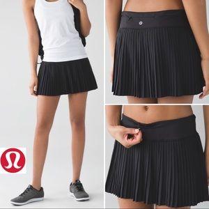 🦊RARE Lululemon Pleat to Street Tennis Skirt